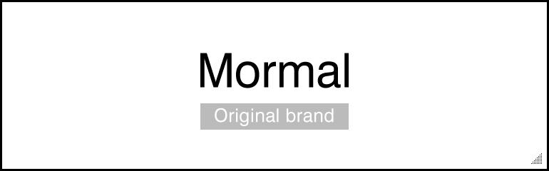 Original brand Mormal